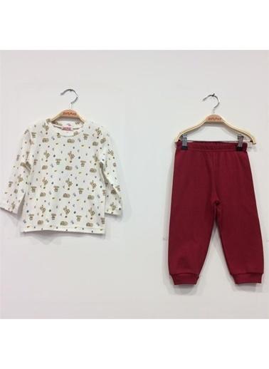 Zeynep Tekstil Pijama Takım Kırmızı